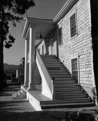 Colton Hall, by Jerry Lebeck, The Jerry Lebeck Collection, California History Room, © Monterey Public Library""
