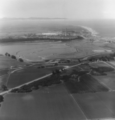 Elkhorn Slough & Moss Landing, by Jerry Lebeck, The Jerry Lebeck Collection, California History Room, © Monterey Public Library