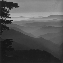 Ventana Wilderness, by Jerry Lebeck, The Jerry Lebeck Collection, California History Room, © Monterey Public Library