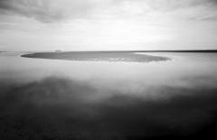 Ferry & Flats Ocracoke, by John Scarlata, © The Estate of John Scarlata