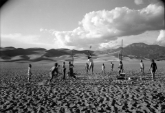 Great Sand Dunes National Monument, CO by John Scarlata, © The Estate of John Scarlata
