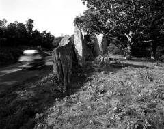 Standing Stones, Blue Ridge Parkway, NC, by John Scarlata, © The Estate of John Scarlata